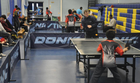 Topspin Table Tennis Sponsored Clubs