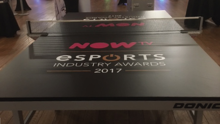 NowTV branded table tennis table